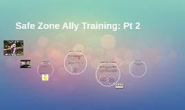 Safe Zone Ally Training: Pt 2