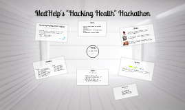 "MedHelp's ""Hacking Health"" Hackathon Feb 8-10 2013"