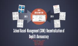 SCHOOL-BASED MANAGEMENT