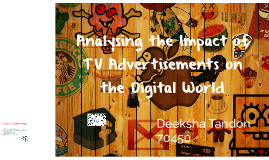 Analysing Impact of TV Advertisements on the Digital World