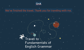 Travel to Fundamentals of English Grammar