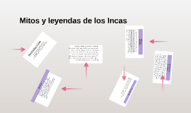 Copy of Mitos y leyendas de los Incas