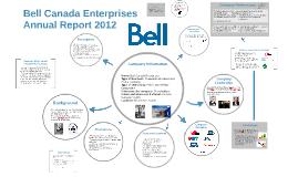 Copy of Bell Canada Enterprises