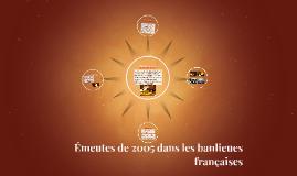 Émeutes de 2005 dans les banlieues françaises