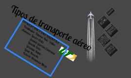Tipos de transporte aéreo