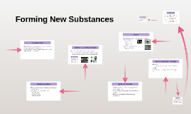 Forming New Substances