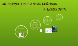 MUESTREO DE PLANTAS LEÑOSAS
