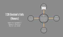 7.20 Einstein's Falls (Honors)