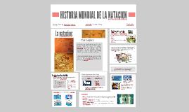 Copy of HISTORIA DE LA NATACION