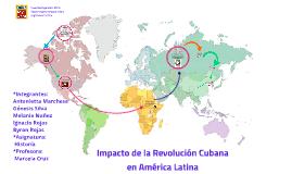 Copy of Impacto de la Revolución Cubana en América Latina