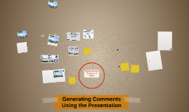 Generating Comments Using the Presentation