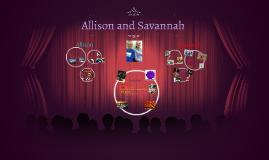 Allison and Savannah