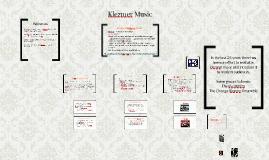 Copy of Klezmer Music