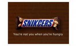 Snickers gravitációs display