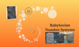 Copy of Babylonian Number Systems