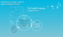 Història de la Llengua Anglesa I
