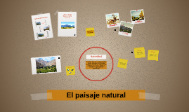Copy of El paisaje natural Artes Visuales 1 medio