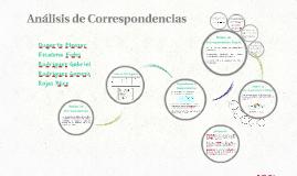 Análisis de Correspondencias