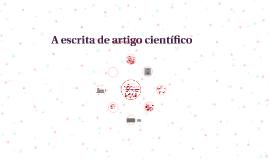 A escrita de artigo científico