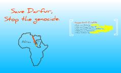 Sudan/Darfur Genocide