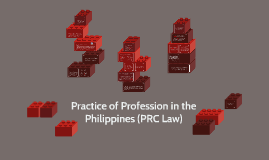 Practice of Profession in the Philippines (PRC Law)