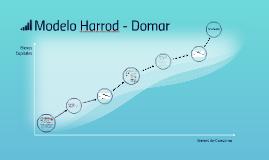 Modelo Harrod - Domar
