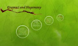 Gramsci and Hegemony