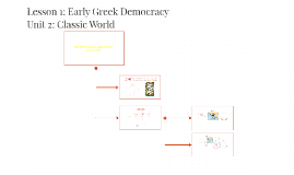 Lesson 1: Early Greek Democracy