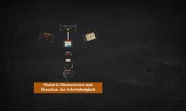 Modul 6: Dimensionen und Ursachen  der Arbeitslosigkeit