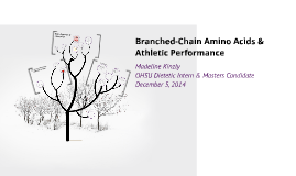Branched-Chain Amino Acids & Athletic Performance