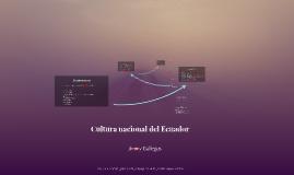 Cultura nacional del Ecuador