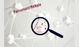 Copy of Copy of Panunuri/Rebyu
