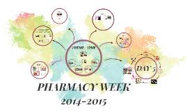 PHARMACY WEEK 2014-2015