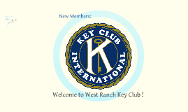Welcome to West Ranch Key Club