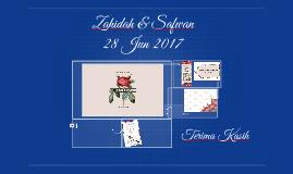 zahidah & safwan