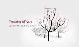 Copy of Practicing Self-Care Presentation