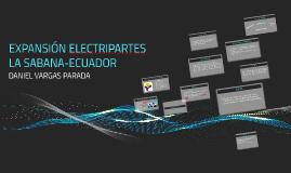 EXPANSIÓN ELECTRIPARTES LA SABANA