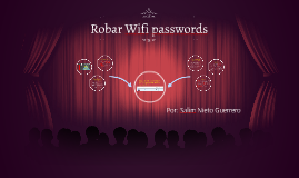 Robar Wifi passwords