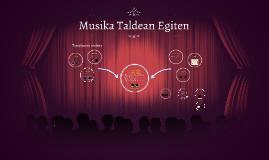 Musika Taldean Egiten