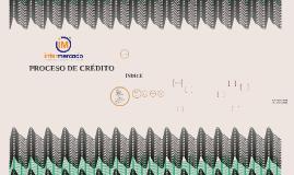 PROCESO DE CREDITO GRUPAL