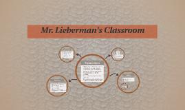 Mr. Lieberman's Classroom