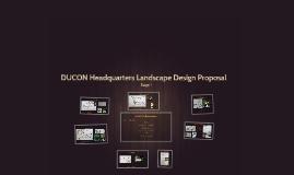 DUCON Headquarters Landscape Design Proposal