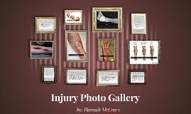 Injury photo gallery