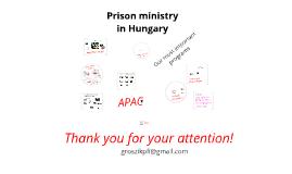 Prison Fellowship Hungary for kick-off meeting