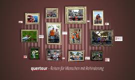 quertour - Reisen für Menschen mit Behinderung