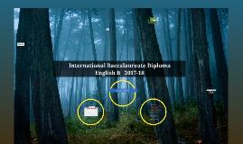 Copy of IB English B