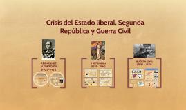 De Alfonso XIII a la Guerra Civil