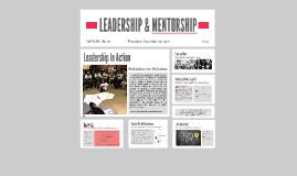 LEADERSHIP and MENTORSHIP