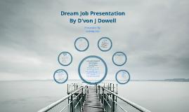Copy of Dream Job Presentation
