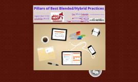 Londrina: Pillars of Best Blended/Hybrid Practices